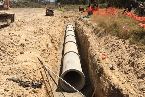 Melbourne-Water-Channel-Project-pipe